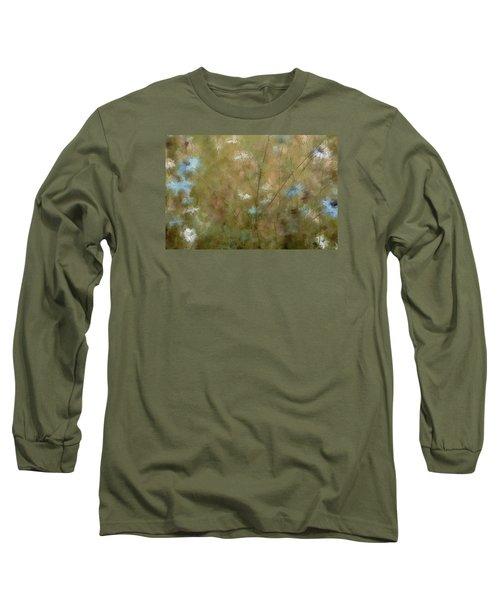 Seek Peace Long Sleeve T-Shirt by The Art Of Marilyn Ridoutt-Greene