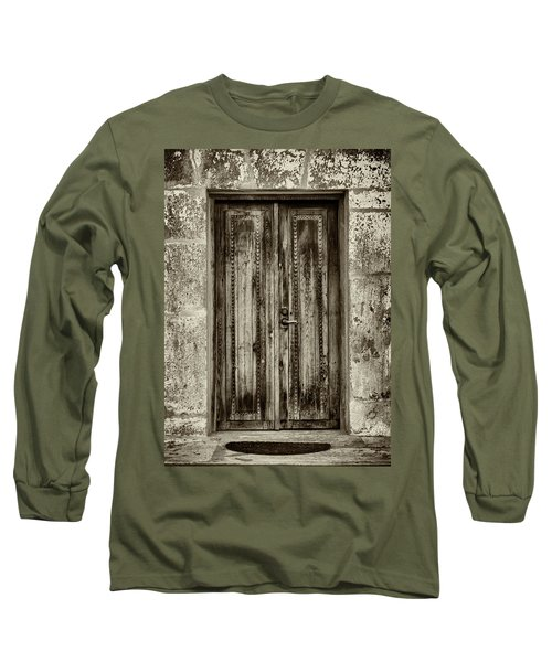 Long Sleeve T-Shirt featuring the photograph Seeking Sanctuary - 2 by Stephen Stookey