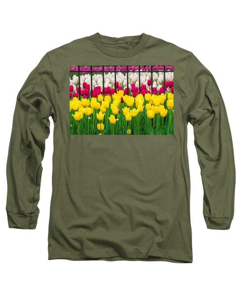 Segregated Spring Long Sleeve T-Shirt
