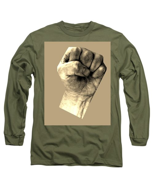 Long Sleeve T-Shirt featuring the photograph Self Portrait Too by Cletis Stump