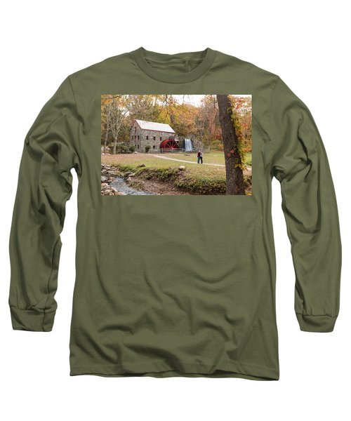Selfie In Autumn Long Sleeve T-Shirt
