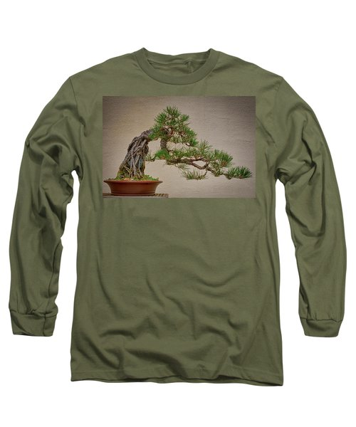 Semi-cascade Long Sleeve T-Shirt