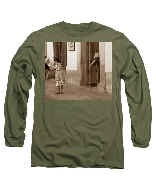 Long Sleeve T-Shirt featuring the photograph Senora by Mary-Lee Sanders