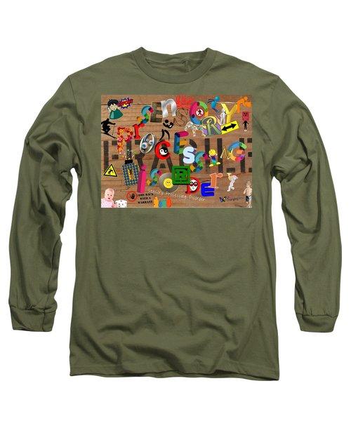 Sensory Processing Disorder Long Sleeve T-Shirt