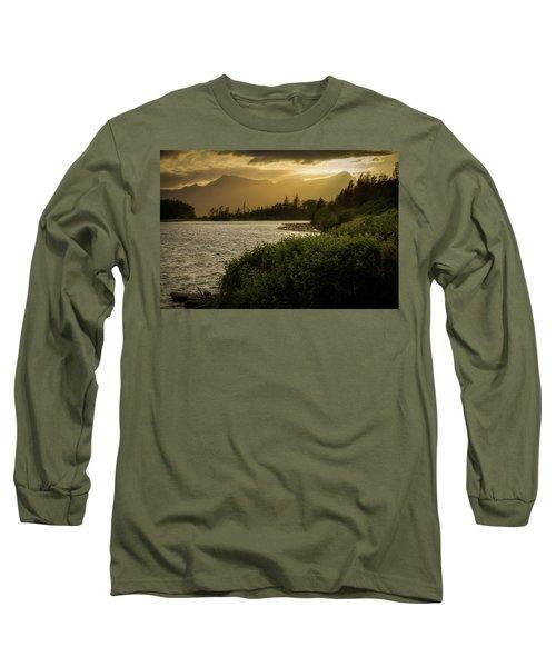 Sepia Sunset Long Sleeve T-Shirt
