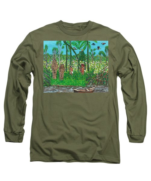 September   Hunters In The Jungle Long Sleeve T-Shirt