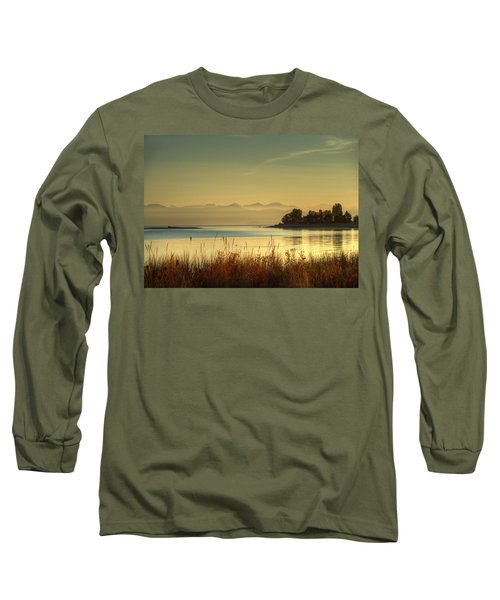September Morn Long Sleeve T-Shirt by Randy Hall