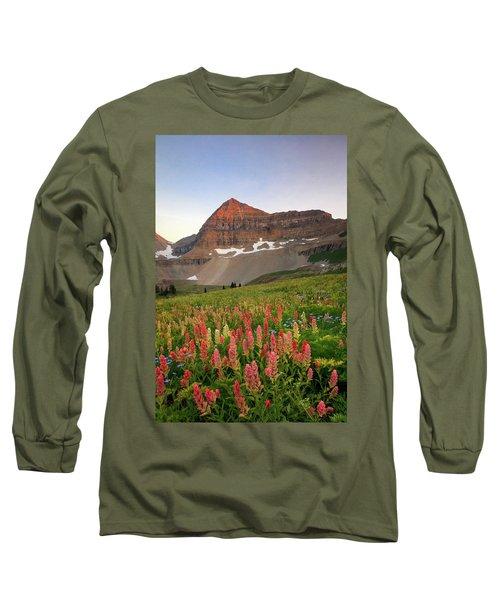 September Wildflowers Long Sleeve T-Shirt