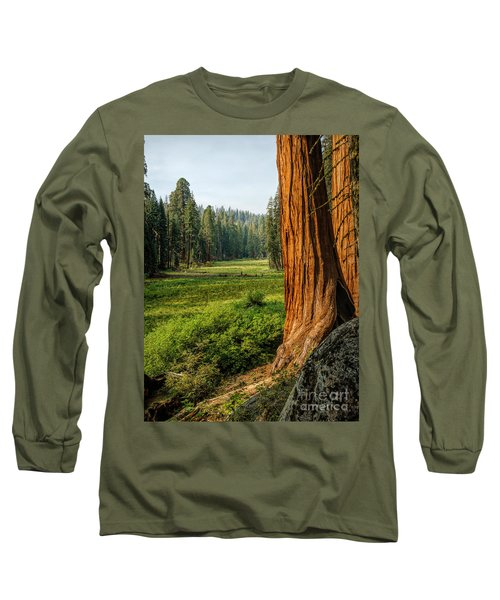 Sequoia Np Crescent Meadows Long Sleeve T-Shirt