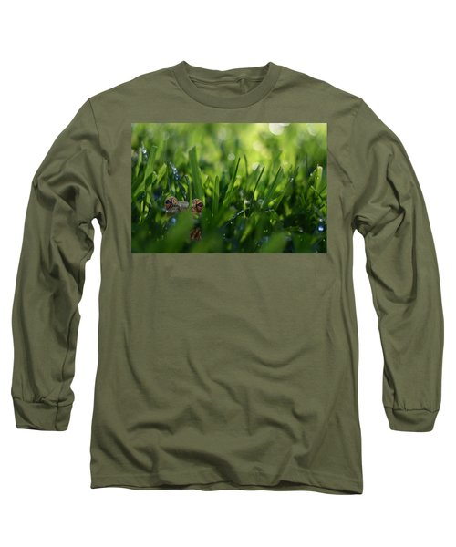 Long Sleeve T-Shirt featuring the photograph Serendipity by Laura Fasulo