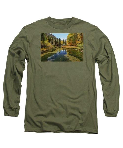 Serene Stream Long Sleeve T-Shirt