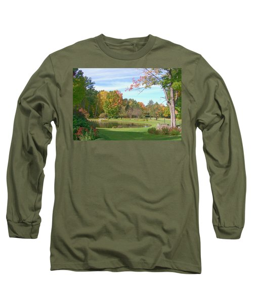 Long Sleeve T-Shirt featuring the digital art Serenity by Barbara S Nickerson