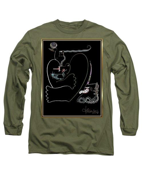 Serpent Moon Long Sleeve T-Shirt