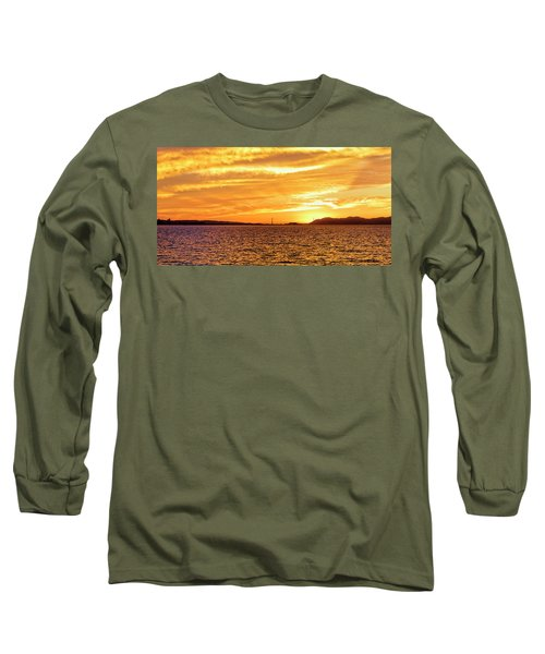 Sf Bay Area Sunset Long Sleeve T-Shirt