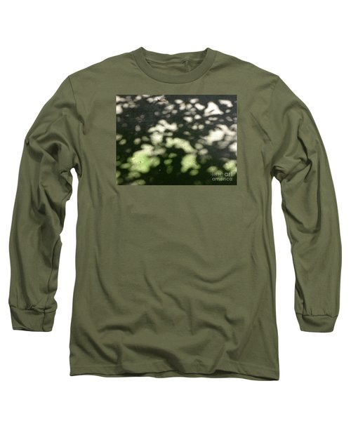 Long Sleeve T-Shirt featuring the photograph Shaded Patterns by Nora Boghossian