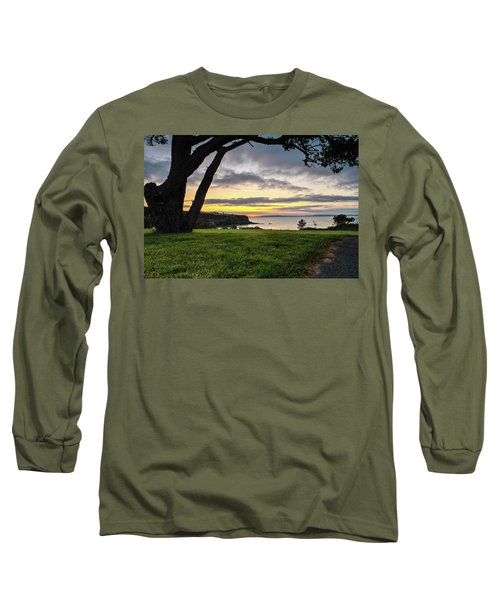 Shaded Sunrise Long Sleeve T-Shirt