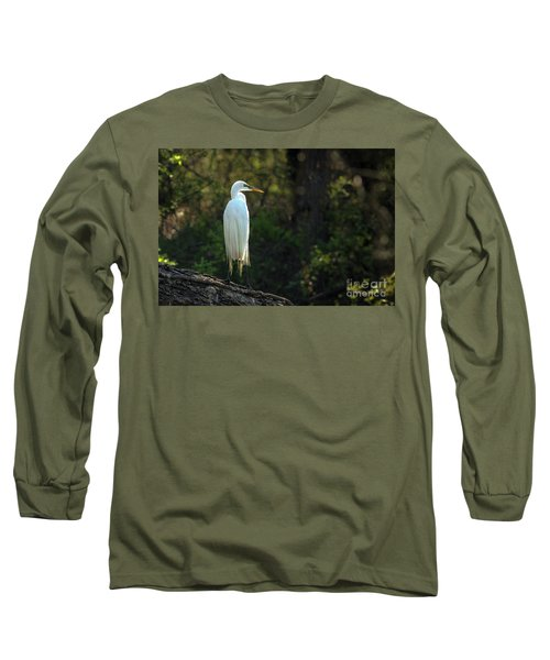 Shadow Heron Long Sleeve T-Shirt