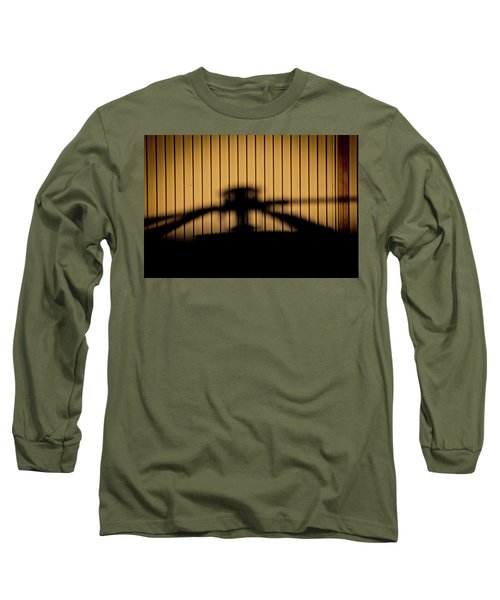 Long Sleeve T-Shirt featuring the photograph Shadow Rotor by Paul Job