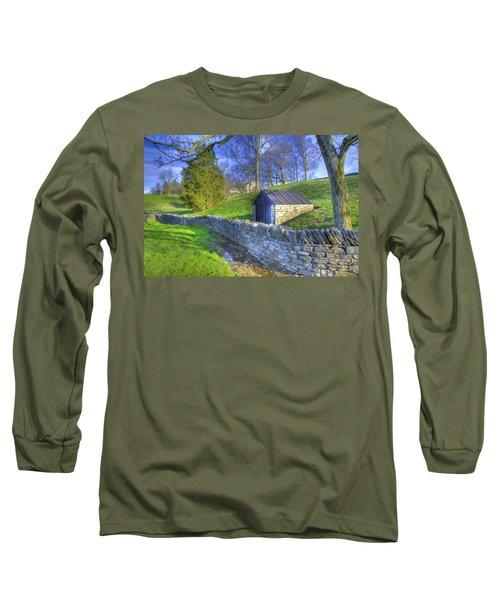 Shaker Stone Wall 6 Long Sleeve T-Shirt