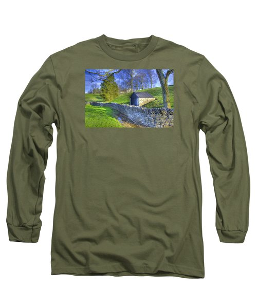Shaker Stone Wall 6 Long Sleeve T-Shirt