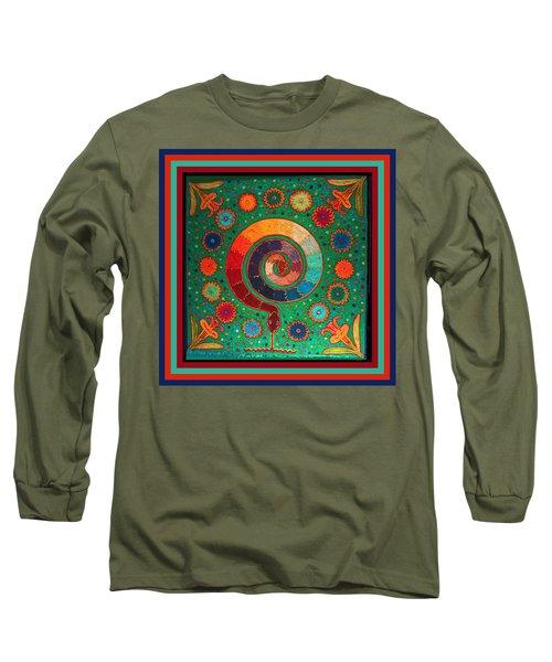 Shaman Serpent Ritual Long Sleeve T-Shirt