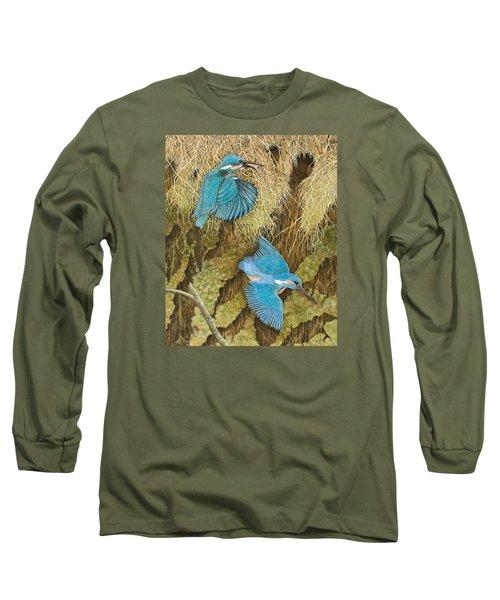 Sharing The Caring Long Sleeve T-Shirt by Pat Scott