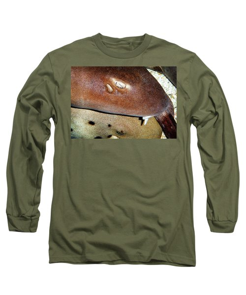 Long Sleeve T-Shirt featuring the photograph Sharks by Anthony Jones