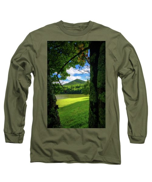 Sharp Top Through The Trees Long Sleeve T-Shirt