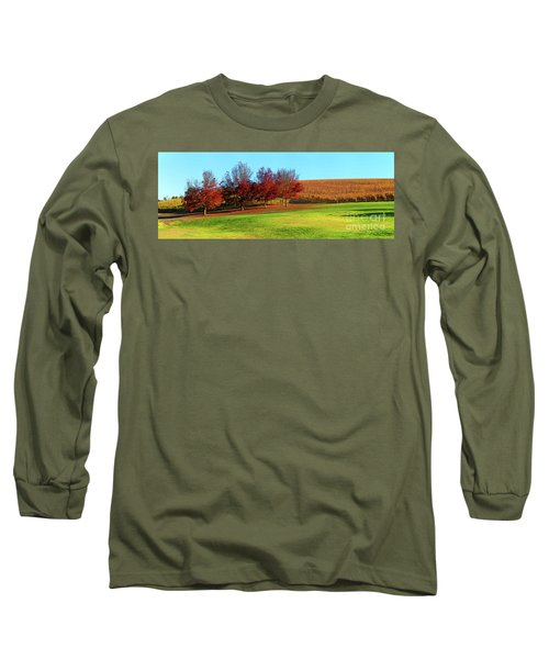 Long Sleeve T-Shirt featuring the photograph Shaw And Smith Winery by Bill Robinson