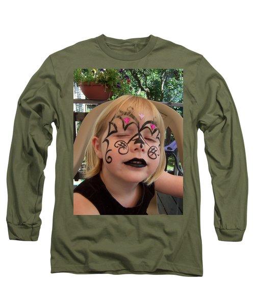 She Wanted A Tough Face Long Sleeve T-Shirt