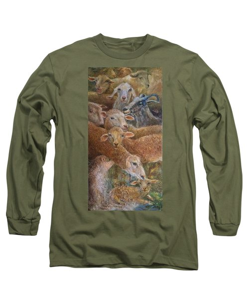 Sheep With Goats Long Sleeve T-Shirt