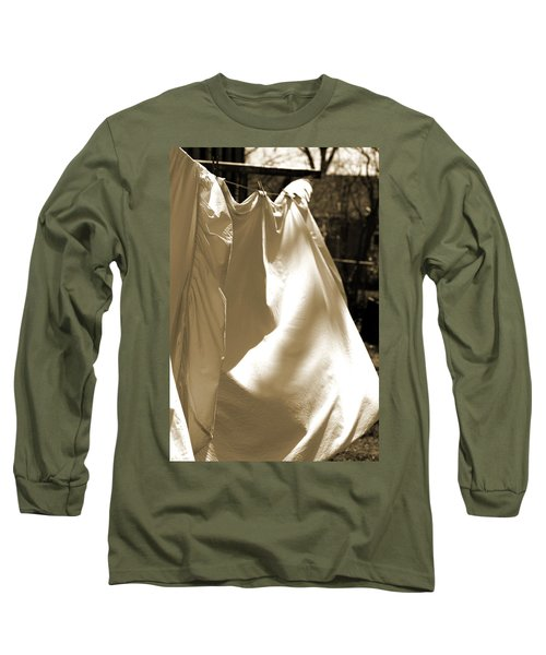 Sheets On The Line Long Sleeve T-Shirt