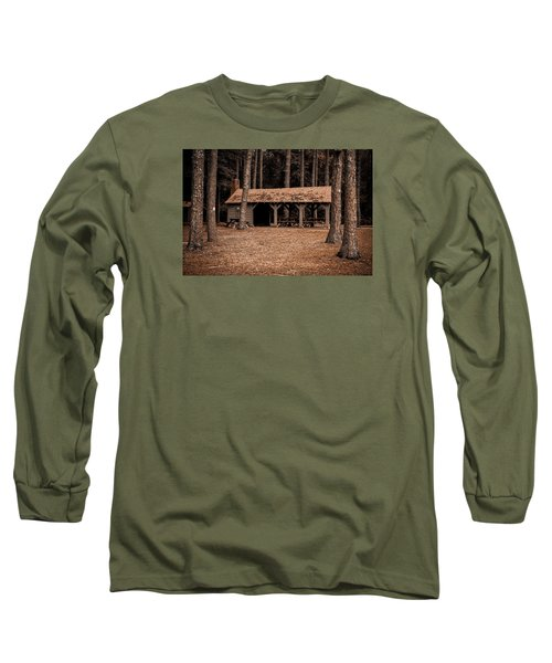 Shelter In The Woods Long Sleeve T-Shirt