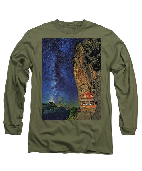Sheltered From The Vastness Long Sleeve T-Shirt