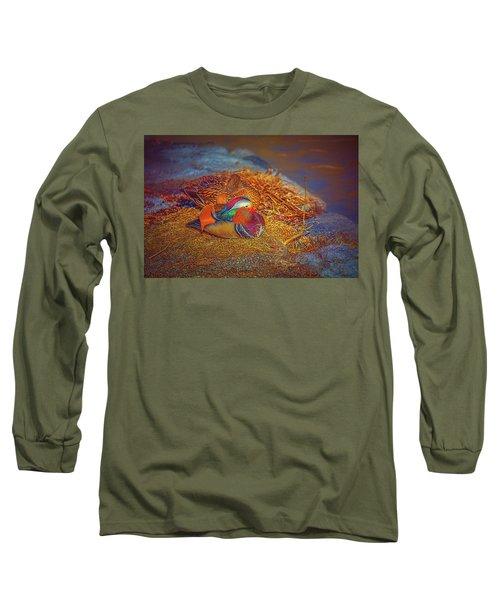 Sheltered #h4 Long Sleeve T-Shirt
