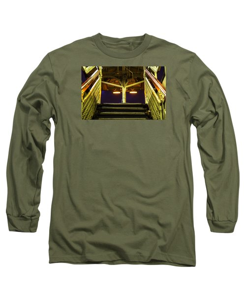 Sheridan L Stop V3 Long Sleeve T-Shirt by Raymond Kunst