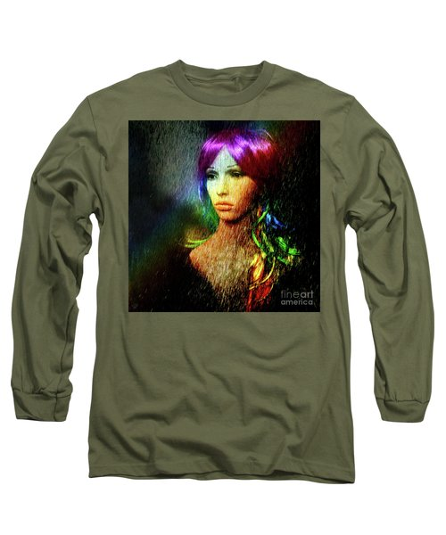She's Like A Rainbow Long Sleeve T-Shirt by LemonArt Photography