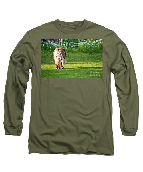 Shetland Pony Long Sleeve T-Shirt