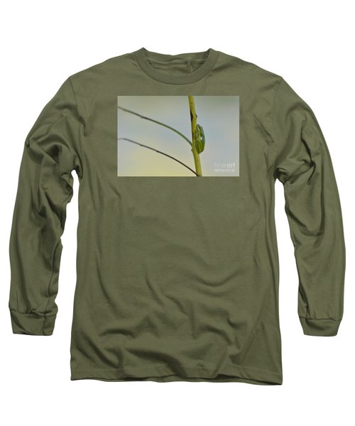Long Sleeve T-Shirt featuring the photograph  Doris Day Shining Bright by Kathy Gibbons