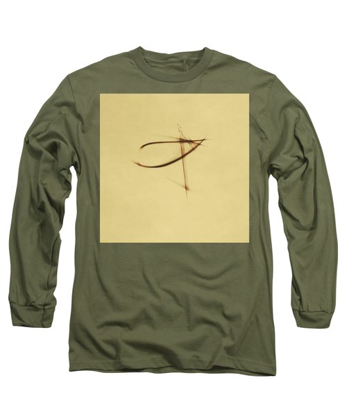 Shining Glyph #04 Long Sleeve T-Shirt