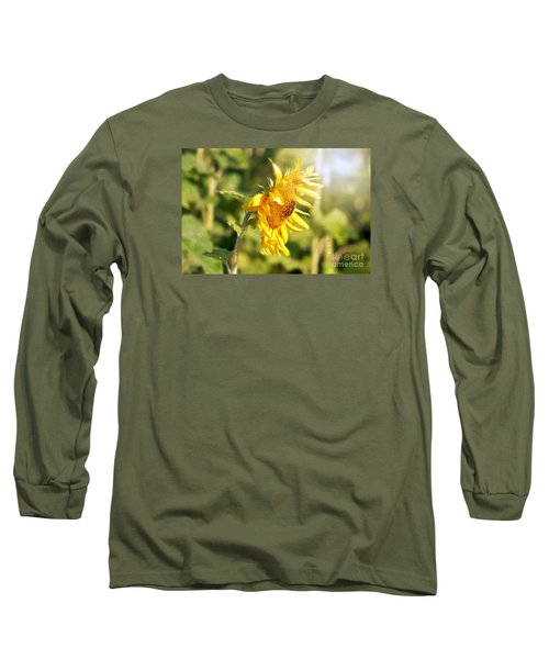 Long Sleeve T-Shirt featuring the photograph Shining Sun by Lila Fisher-Wenzel