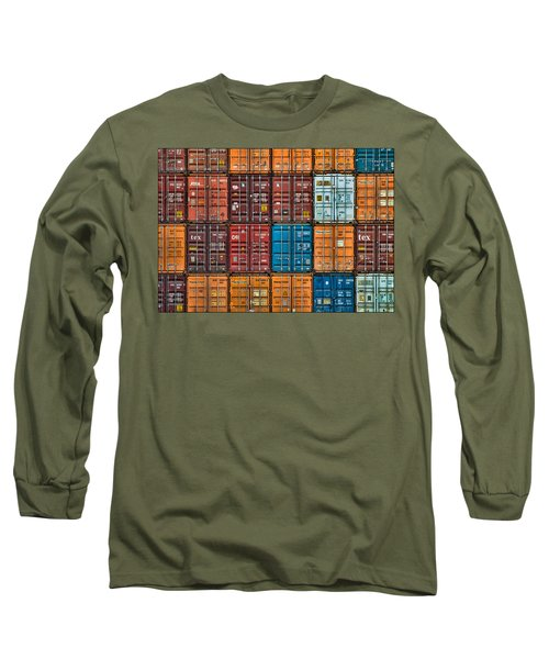 Shipping Containers Long Sleeve T-Shirt