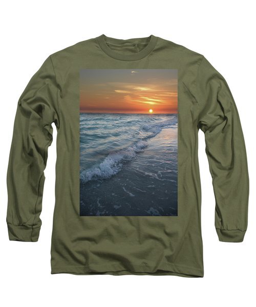 Shoreline Sunset Long Sleeve T-Shirt