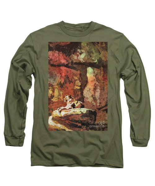 Long Sleeve T-Shirt featuring the painting Short Reprieve by Ryan Fox