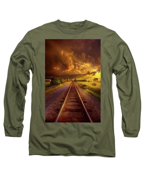 Long Sleeve T-Shirt featuring the photograph Short Stories To Tell by Phil Koch