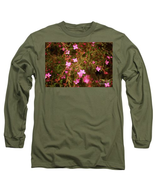 Shower Of Pink Long Sleeve T-Shirt
