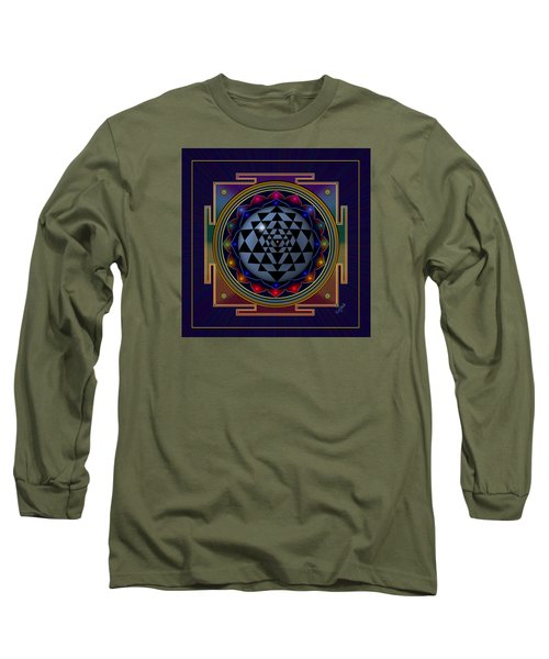 Shri Yantra Long Sleeve T-Shirt