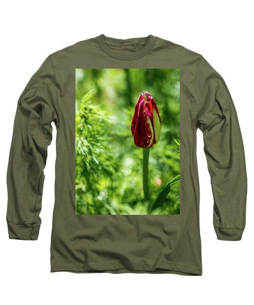 Shy Tulip Long Sleeve T-Shirt