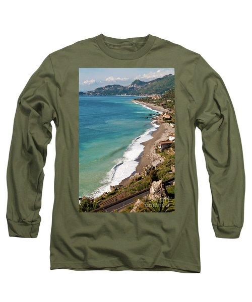 Sicilian Sea Sound Long Sleeve T-Shirt