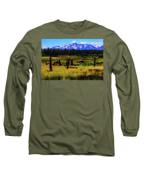 Sierra Nevada Mountains Long Sleeve T-Shirt
